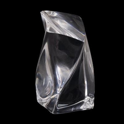 Kosta Boda Art Glass Sculpture Designed by Göran Wärff