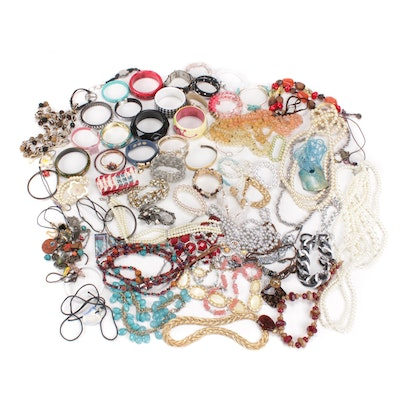 Jewelry Assortment Including Lia Sophia, Loft and The Limited