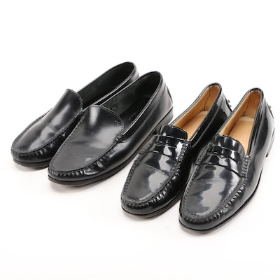 Women's Tod's Loafers in Black Leather