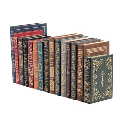 "Easton Press Leather Bound Series ""The 100 Greatest Books Ever Written"""