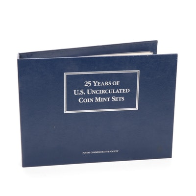 United States Uncirculated Coin Mint Set Album Collection