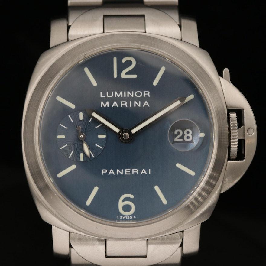 Panerai Luminor Marina PAM69 Stainless Steel Automatic Wristwatch