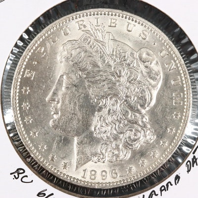 1896-O Silver Morgan Dollar