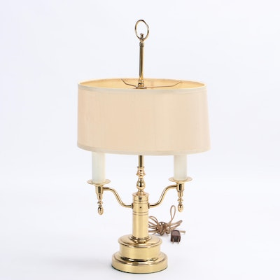 Frederick Cooper Brass Candlestick Table Lamp