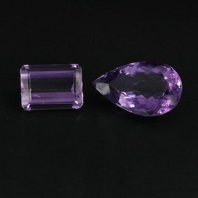 Loose 42.15 CTW Amethyst Gemstones