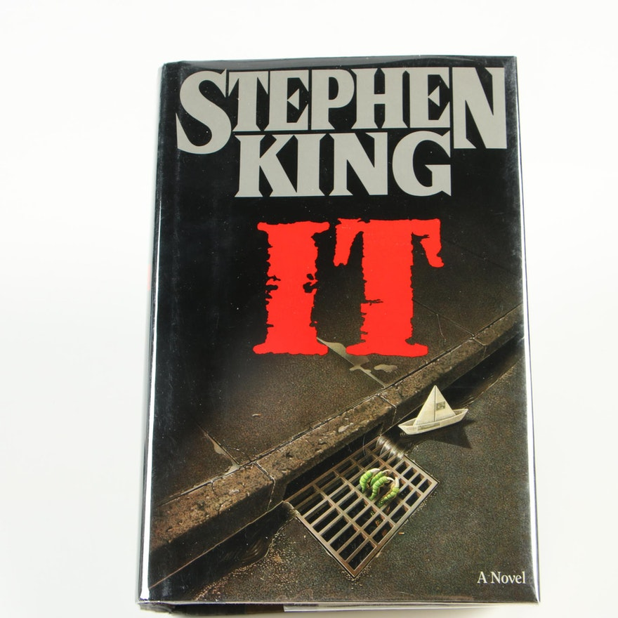 """First Edition, First Printing """"IT"""" by Stephen King"""