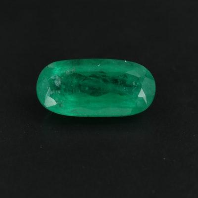 Loose 4.25 CT Emerald Gemstone