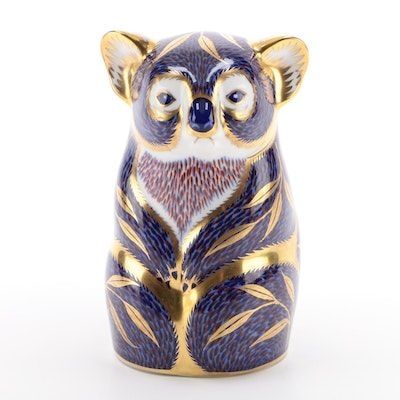 Royal Crown Derby Bone China Koala Paperweight, 1994
