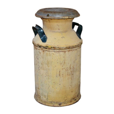 C.C. & B. Co. SAC-33 Metal MIlk Can, Antique