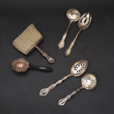 "Towle ""Country Manor"" and Other Sterling Serving Utensils and Table Accessories"