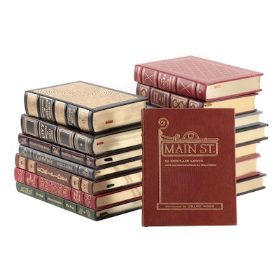 """Easton Press Leather Bound """"Collector's Edition"""" Fifteen Volumes"""