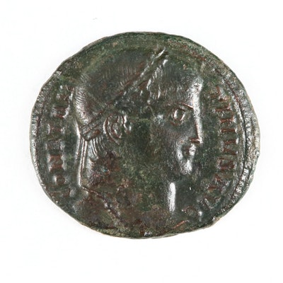 "Ancient Roman Imperial AE Follis of Constantine I, ""The Great,"" ca. 326 A.D."