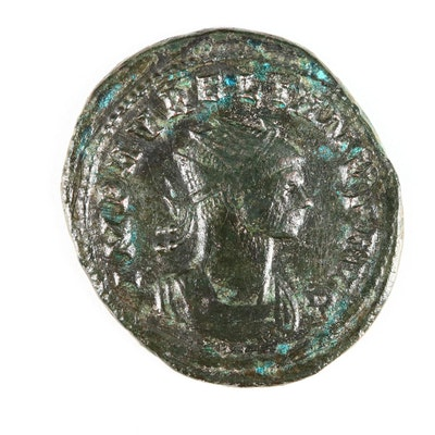 Ancient Roman Imperial AE Antoninianus of Aurelian, ca. 270 A.D.