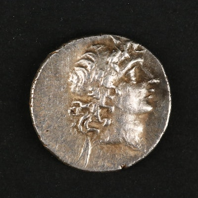 Ancient Kingdom of Cappadocia, AR Drachm of Ariarathes V, ca. 163 B.C.