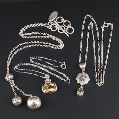 Sterling Silver Necklaces Featuring Lois Hill and Lori Bonn