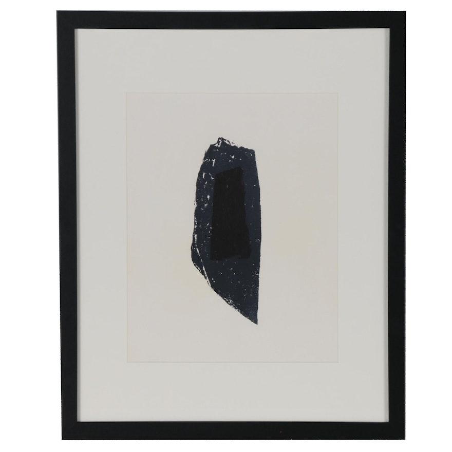 Raoul Ubac Lithograph for Derrière le Miroir, No. 105-106, 1958