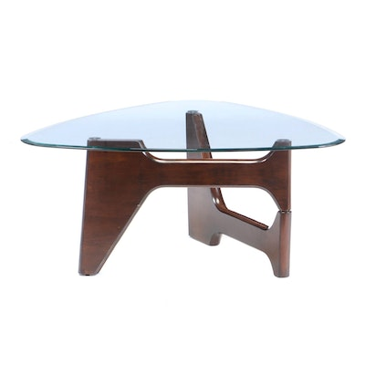 "Ashley Furniture Modernist Style ""Blanca"" Coffee Table"