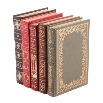 The Franklin Library Leather Bound Classics, Five Volumes