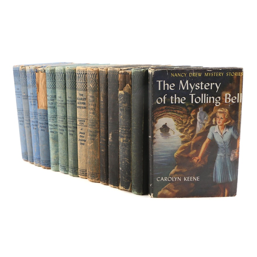 1951 - 1961 Nancy Drew Books, Fourteen Volumes