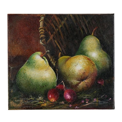 "Alexander Nakonechny Oil Painting ""Pears"""