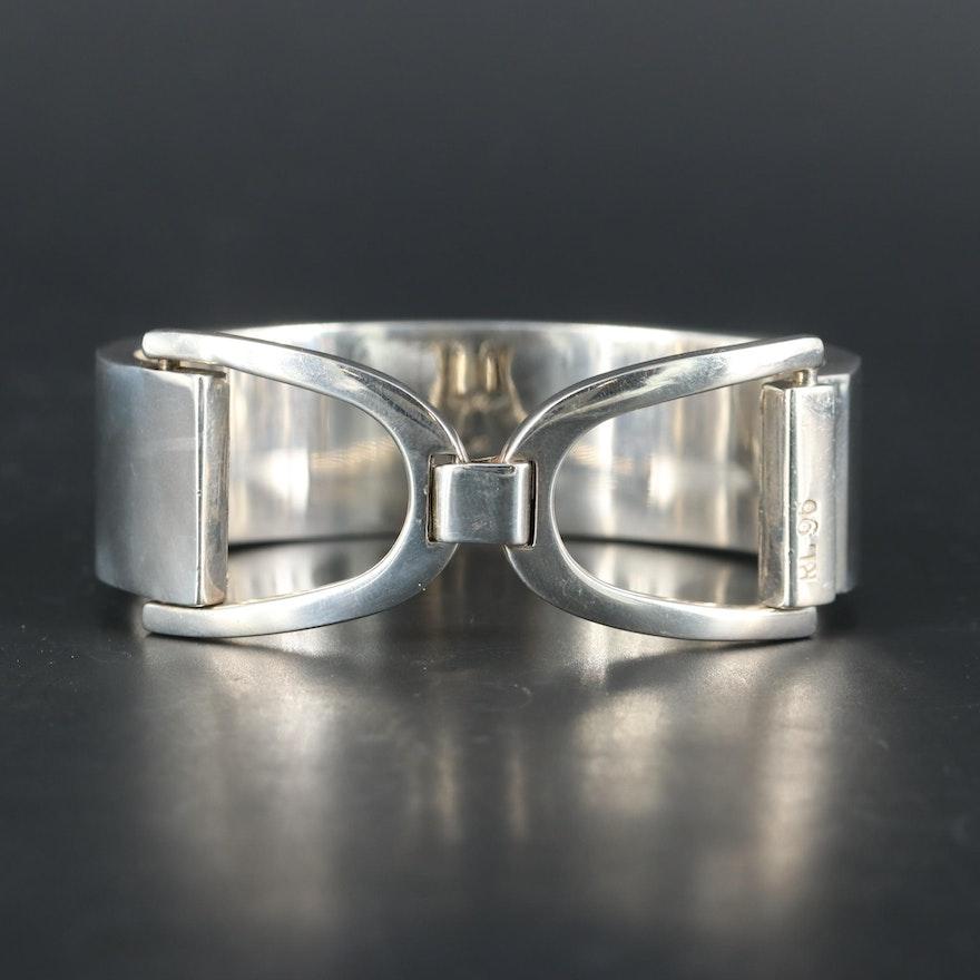 Ralph Lauren Sterling Silver Equestrian Bracelet