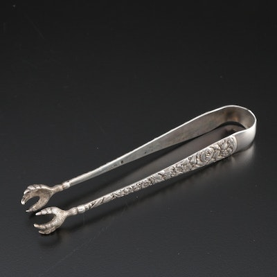 "Towle ""Arlington"" Sterling Sugar Tongs"