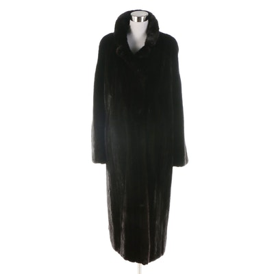 Mink Fur Full-Length Coat from Bruno Furs