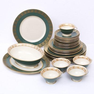 "Franciscan ""Cimaroon"" Porcelain Dinnerware, 1950s"