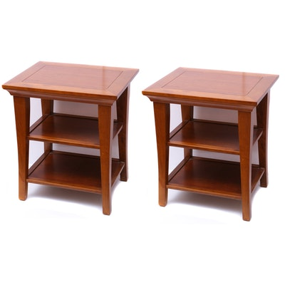 Pottery Barn End Tables, Contemporary
