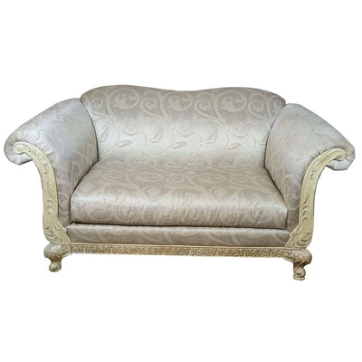 Schadig Contemporary Upholstered Loveseat