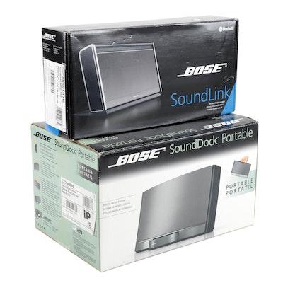 Bose SoundDock Portable and SoundLink Speakers