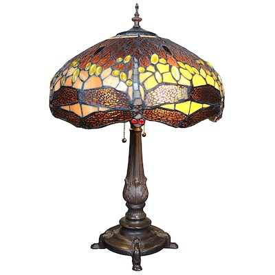 Tiffany Style Glass Table Lamp