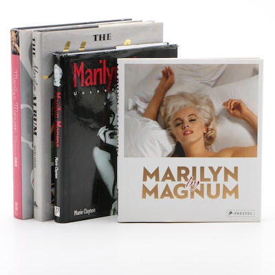 "First Edition ""The Marilyn Album"" with Other Marilyn Monroe Books"