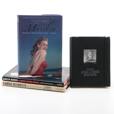 "Marilyn Monroe Books featuring ""Before Marilyn"", First Edition"