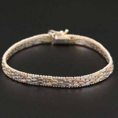 Sterling Silver Riccio Chain Bracelet