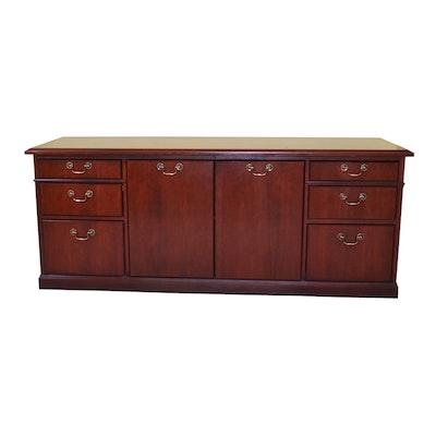 Kimball Mahogany Storage Credenza, Contemporary