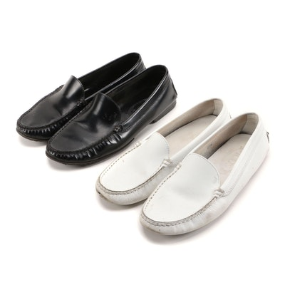 Tod's Leather Gommino Driving Shoes and Loafers