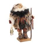 Handmade Wilderness Santa Figurine, 2001