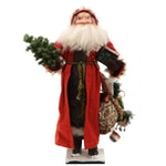 Jerry & Carol Smith Handmade Santa Figurine