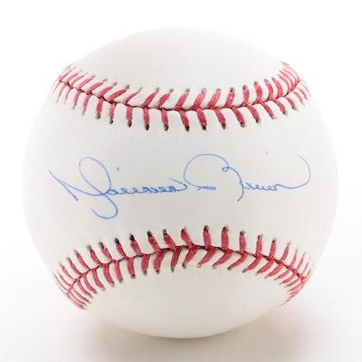 Mariano Rivera Signed Major League Baseball  COA
