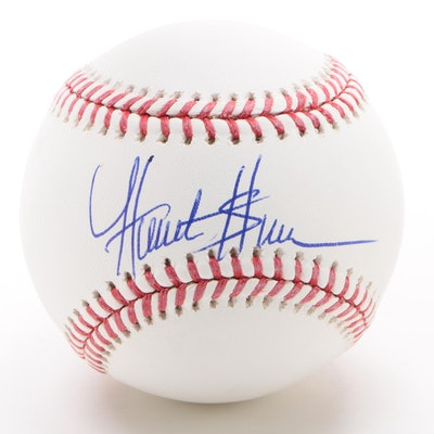 Hunter Green Signed Major League Baseball  COA