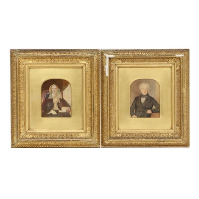 Crayon Portraits, 19th Century