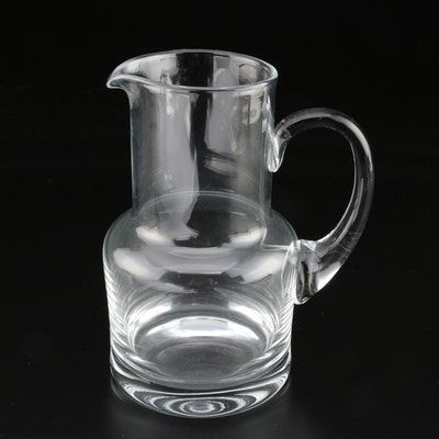 Tiffany & Co. Crystal Bedside Pitcher, Contemporary