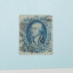 1861 United States Ninety Cent Stamps, Scott #72