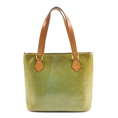 Louis Vuitton Houston Tote in Vernis and Vachetta Leather