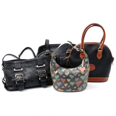 Dooney & Bourke, Kenneth Cole and Aerika Handbags