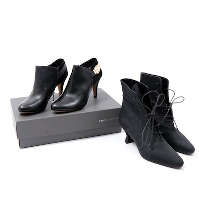 Vince Camuto Velino Leather and Suede Ankle Boots and Kenneth Cole Boots