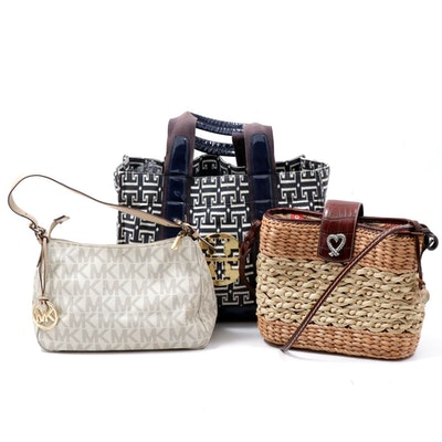 Tory Burch, Michael Kors, and Brighton Totes and Shoulder Bags