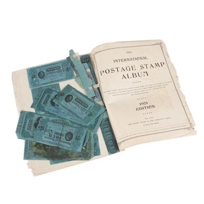 United States Tobacco Internal Revenue Stamps, 1898 through 1902