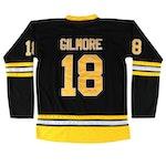 "Adam Sandler Signed ""Happy Gilmore"" Hockey Jersey  COA"
